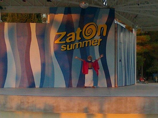 Zaton Holiday Resort : zona miniclub e dance