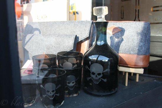 North Laine : Giftflasche