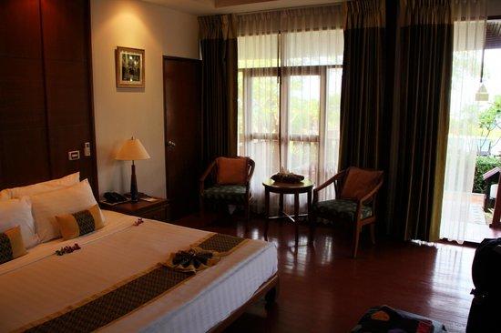 P.P. Erawan Palms Resort : Deluxe Zimmer