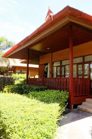 P.P. Erawan Palms Resort : Unser Bungalow