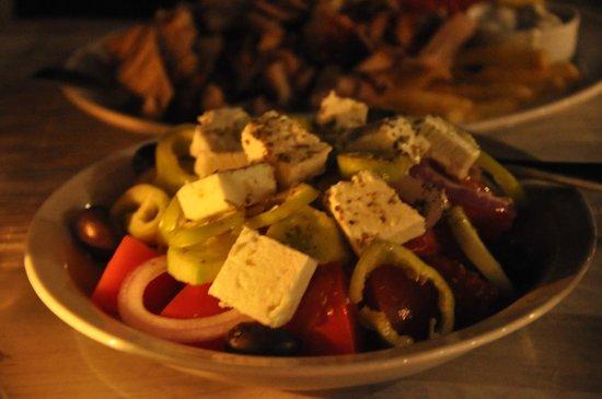 Ithaki : Greek salad