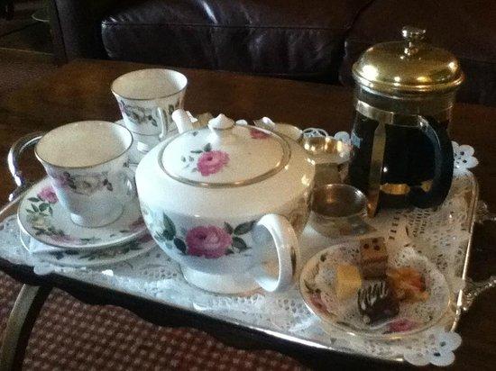 Sharrow Bay: beautiful tea tray