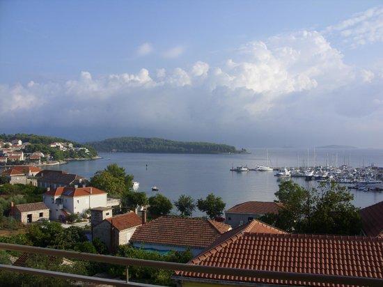 Hotel Borik: Blick vom Balkon