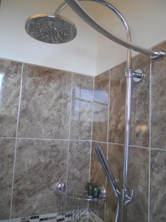 Heulfre B&B: Excellent shower