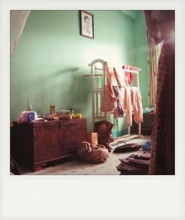 Sanu's House Homestay: our romantic room
