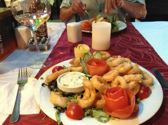 REIS in the KITCHEN: Delicious Calamari