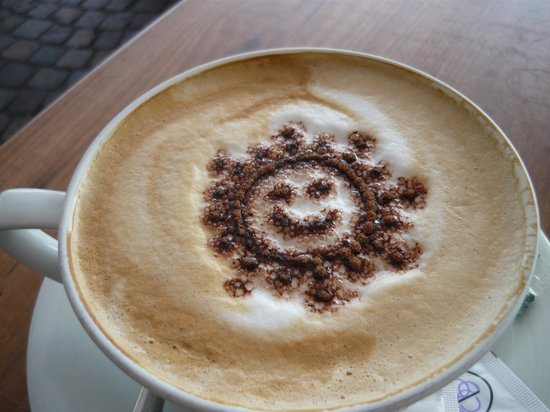 Cristallo Caffe Gelateria : il sole che ride...come non iniziare la giorata sorridendo???