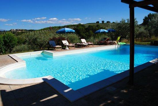 Agriturismo Castrum Normanno: piscina
