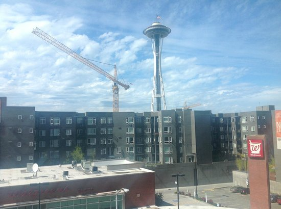 Hyatt Place Seattle/Downtown: Space Needle View