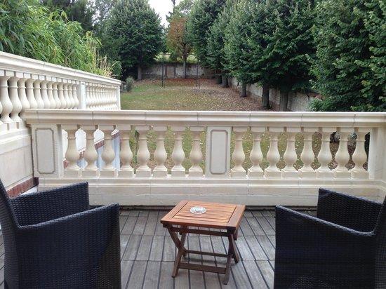 La Villa Eugene : Our room terrace (Room 23)