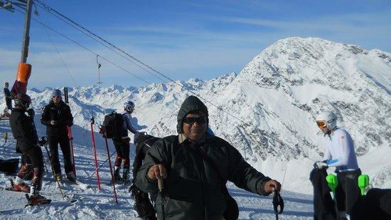 Stubaier Gletscher: Sking