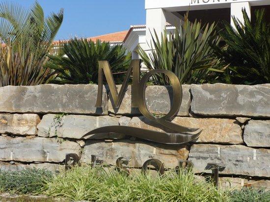 Monte da Quinta Resort: the sign
