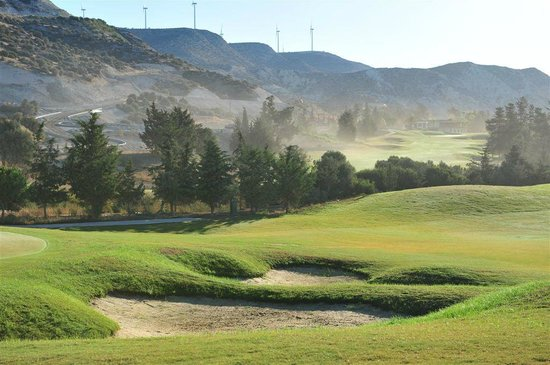 Kouklia, Kypros: Brand New Secret Valley Golf Course, 18Holes Championship Tony Jacklin Designed
