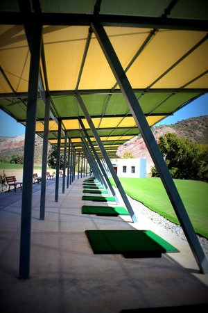 Secret Valley Golf Club : Brand New Driving Range with 22 Covered Bays