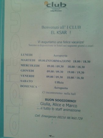 """Hotel El Ksar: presenza """"assidua"""" alpitour"""