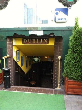 Dublin: Entrance