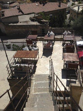 Ziggy's Shoppe & Cafe: terrazza bassa