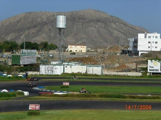 Karting Club Tenerife: I was Winning!