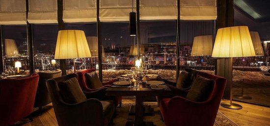 Restaurant & Lounge Reka: Интерьер ресторана