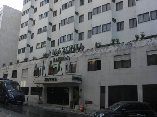 Amazonia Lisboa Hotel: Frente Hotel