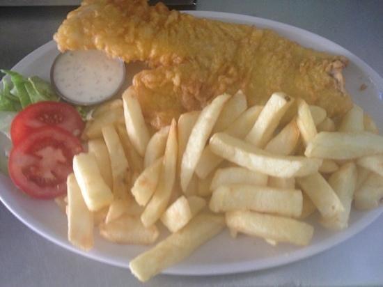 Mr Jd's New Titanic Restaurant : fish supper