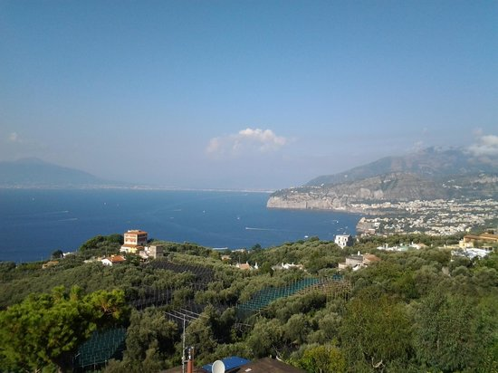 Il Nido Hotel Sorrento: First View