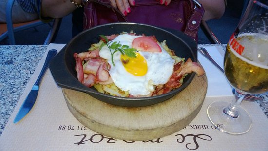 Le Mazot: This is the Roesti my wife had