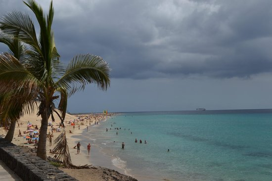 Sol Jandia Mar Apartments: Beach close to the hotel