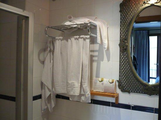 Hotel Hospederia De Los Reyes: Bagno