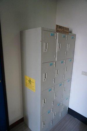 Amigos Hostel : Locker