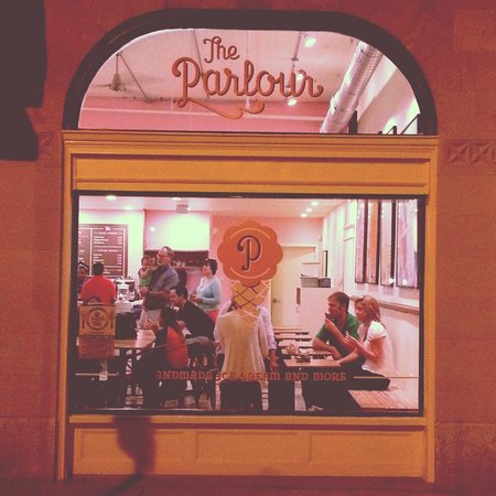 The Parlour: storefront