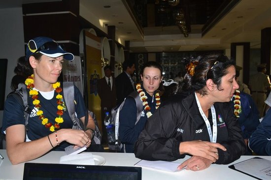 Hotel Sandy's Tower : Women's Cricket team of South Africa