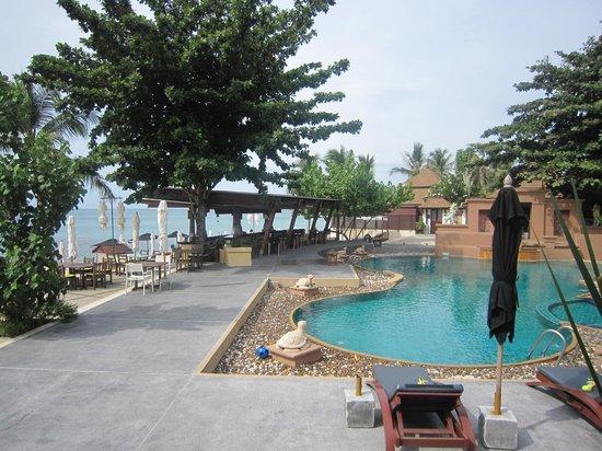 Pavilion Samui Villas & Resort : La piscine