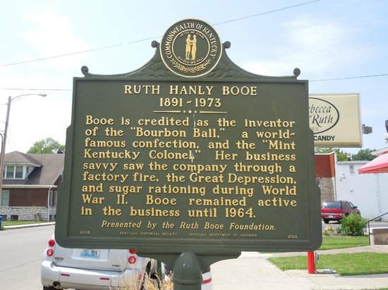 Rebecca Ruth Candy Factory: Historic Marker