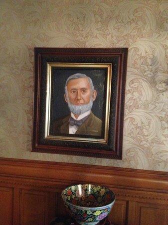 Mansion District Inn Bed & Breakfast: Emma Hamlin McCandless' father, Henry Hamlin, Smethport's primary benefactor.