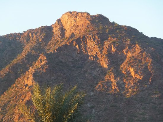 JW Marriott Scottsdale Camelback Inn Resort & Spa: view from our room