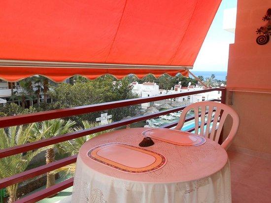 Olympia Aparthotel : Вид с балкона