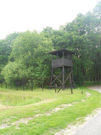 Kamp Westerbork: Вышка, сохранившаяся с тех ужасных времен