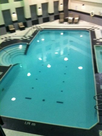 Toronto Marriott City Centre Hotel: Pool and Hot Tub