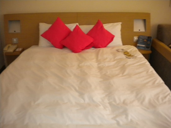 Novotel London City South : le lit