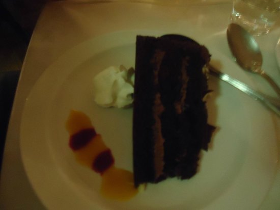 An Evening of Food, Folklore and Fairies: Chocolate Fudge Cake