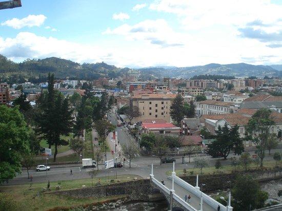 Hostal Turista del Mundo: View out back