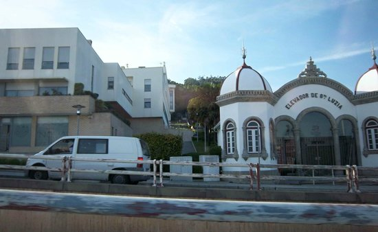 Hotel Jardim Viana Do Castelo: Elevador para ir a la Basílica de Sta. Lucía