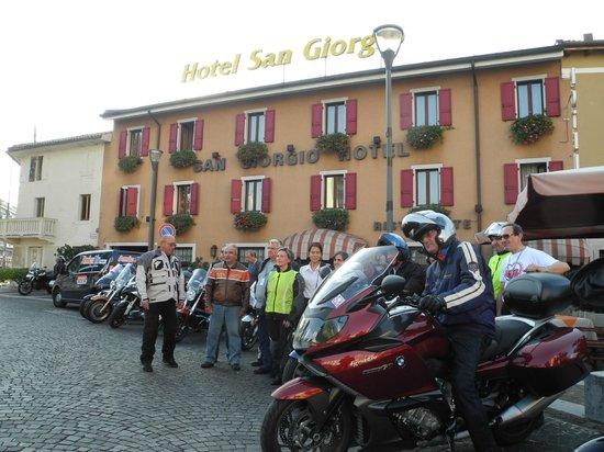 Hotel San Giorgio: Mototour tre Nazioni 5settembre 2013