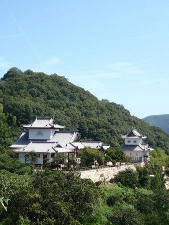 Innoshima Suigun Castle : 山上のお城