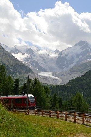 Hotel Margherita: Ghiacciaio del Bernina