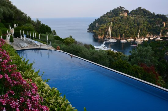 Belmond Hotel Splendido: lovely pool with views