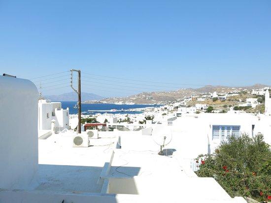 Andriani's Guest House: Hermosa vista desde la ventana del cuarto