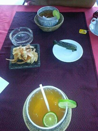 Golden Butterfly Villa: Welcome Drink