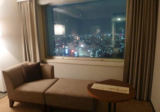 Hotel Century Southern Tower: our room's view!